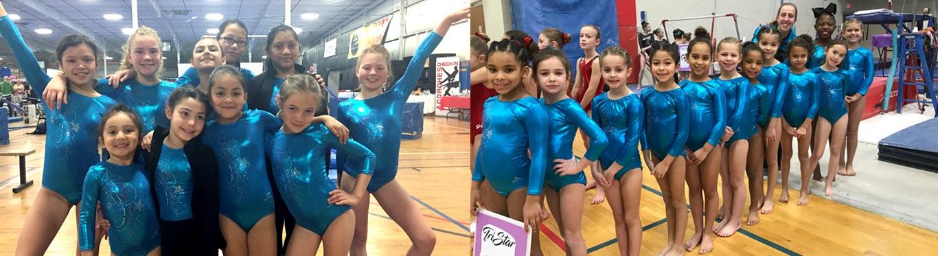 gymnastics team progress reports